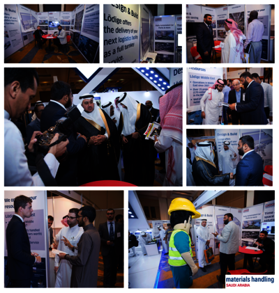 Impressions from Materials Handling Saudi Arabia in Jeddah