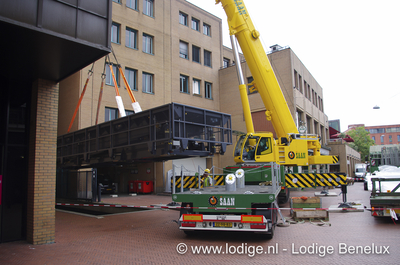LorryLift for the music centre in Eindhoven