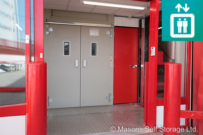 ESCORTA® Goods Lift brings added value-service for Masons Self Storage Ltd.