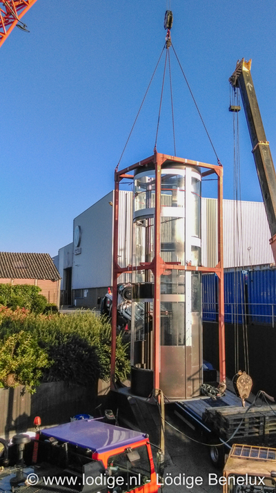Successfull installation of the 9th elevator at the Vahali Shipyard