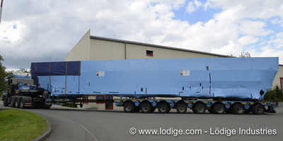 Two Lödige LorryLifts for the Logistic Center in Ingolstadt