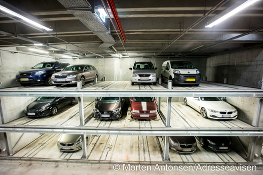 [Translate to English - Middle East:] automated car parking system in DOKK1