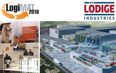 LogiMAT 2018 – International Trade Fair for Intralogistics Solutions and Prozess Management