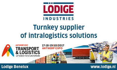 "Lödige Industries Benelux at the trade show ""Transport and Logistics"" in Belgium"