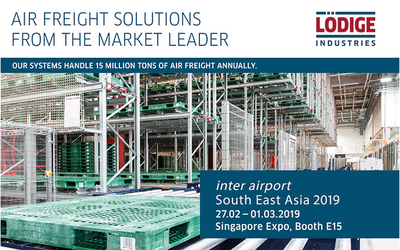 Lödige Industries at the premier airport exhibition in South East Asia