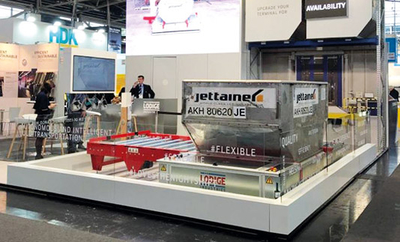 Lödige Industries unveils automated guided vehicle for airfreight and baggage ULDs at inter airport 2019